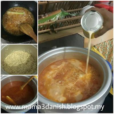 Resepi Nasi Tomato Mudah Dan Cepat