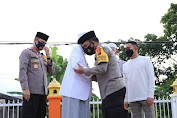 Jelang Lebaran, Kapolda Sumut Silaturahmi ke Ponpes Al-Kautsar Al-Akbar