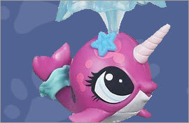 LPS Narwhal Figures