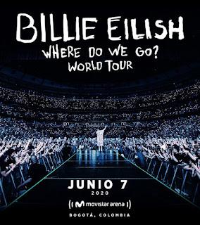 POS Concierto de BILLIE EILISH en Bogotá 2020