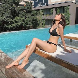 Hết tự ti về nhược điểm cơ thể, Min tung ảnh bikini đầy gợi cảm