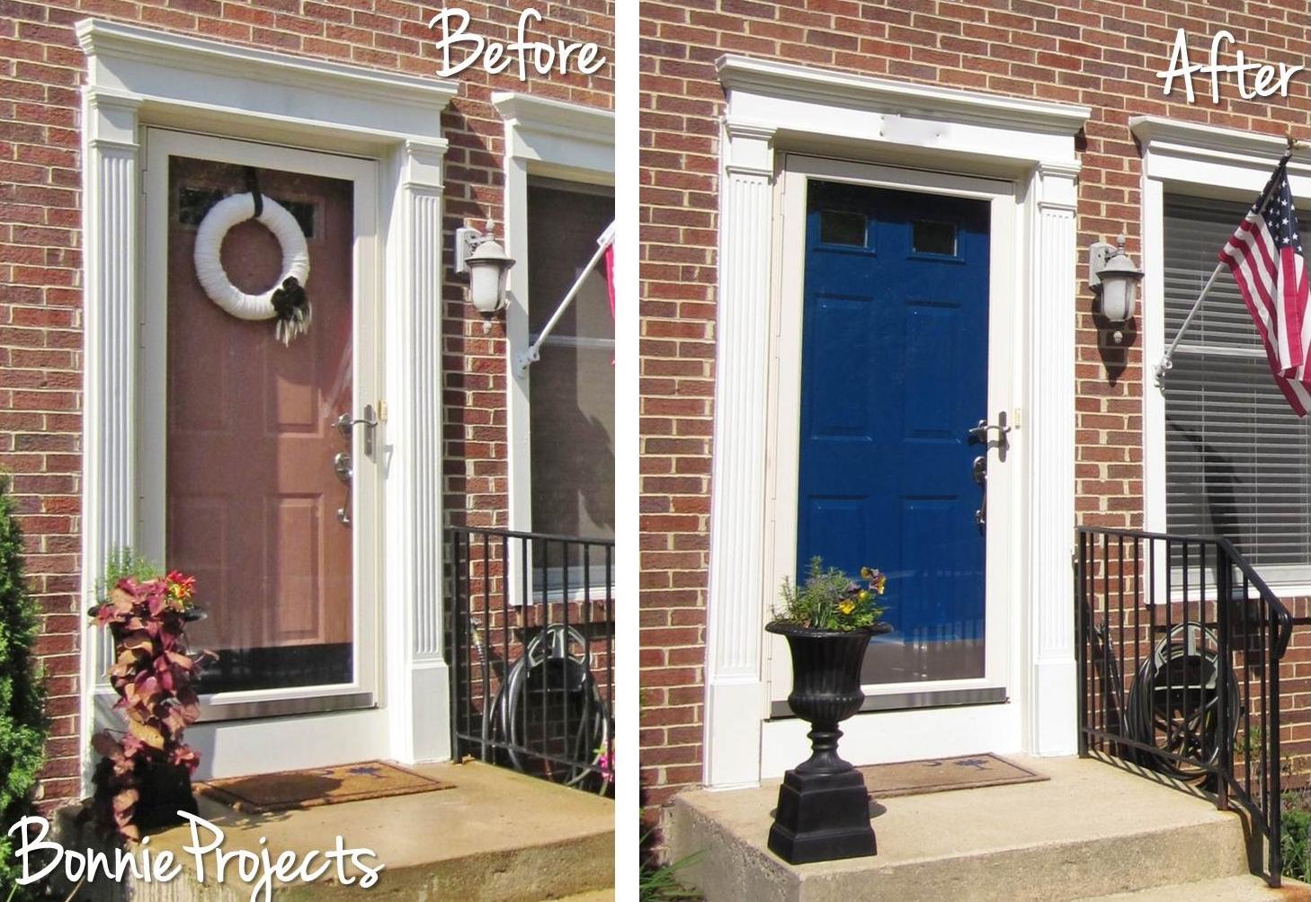 Exterior Door Colors: BonnieProjects: A Blue Front Door