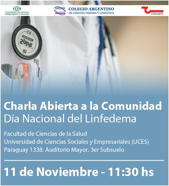 11 de noviembre Día Nacional del Linfedema