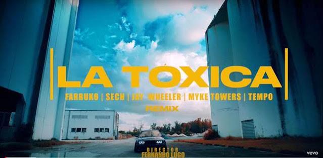 """Farruko estrena el video oficial de su tema """"La Tóxica (Remix)"""""""