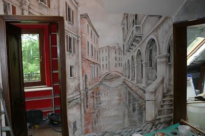 Malarstwo ścienne, aranżacja ściany, warszawa
