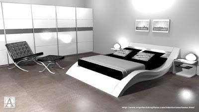Proyecto de decoración y amueblamiento para dormitorio