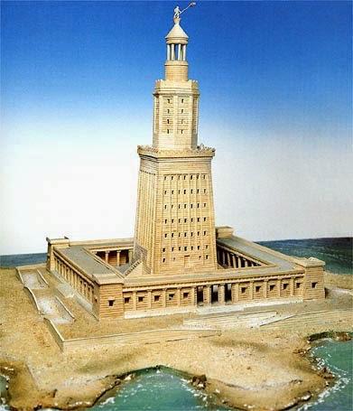 Curiosidades sobre as Sete Maravilhas do Mundo Antigo: Farol de Alexandria