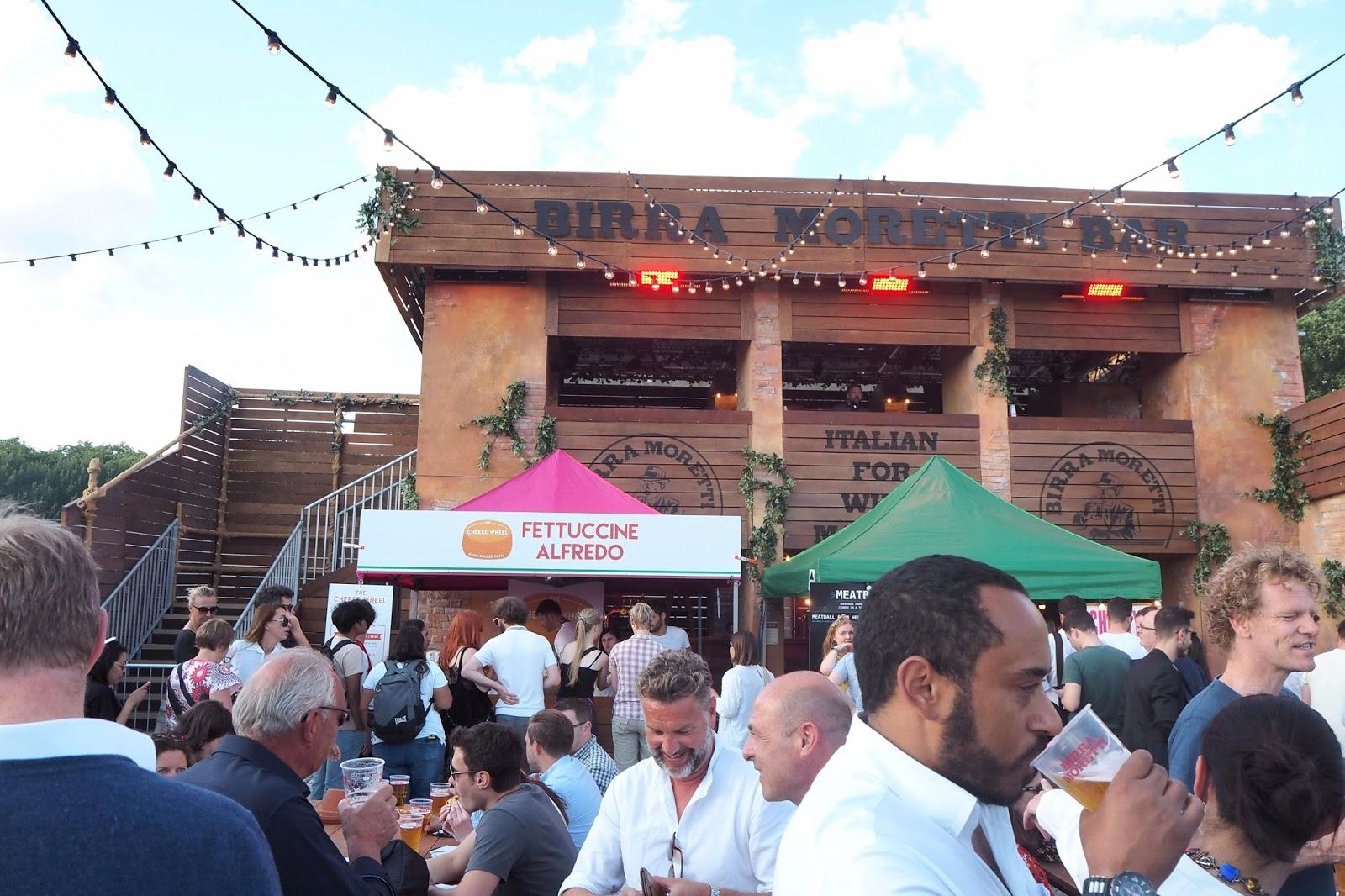 Birra Moretti Stand