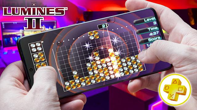 Lumines 2 Para Android (Configuraciones) [ROM PSP]