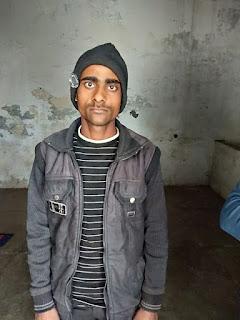 रामसनेहीघाट पुलिस ने चोरी की मोटरसाइकिल सहित एक अभियुक्त को किया गिरफ्तार