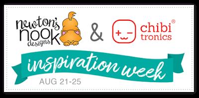 Newton's Nook Designs & Chibitronics Inspiration Week #newtonsnook #chibitronics
