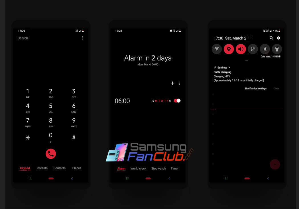 Top 5 Best Substratum Themes for Samsung Galaxy S7, S8, S9 with Android 8 Oreo