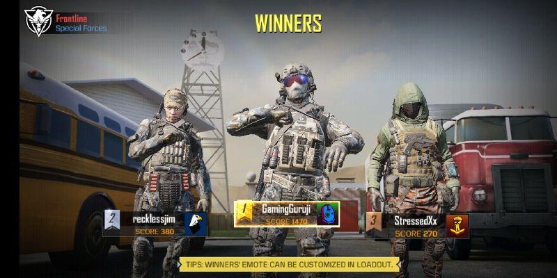 Call of duty mobile game screenshot 1