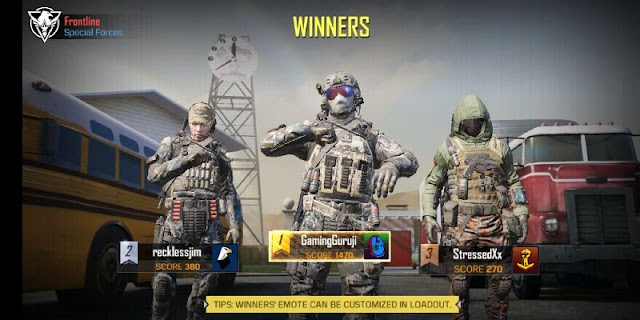 Call of duty mobile game screenshot 1