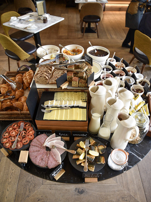 Dormy House Cotswolds Luxury Hotel breakfast
