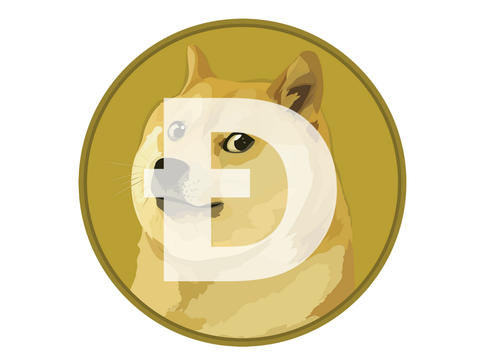 Logo Dogecoin Format PNG