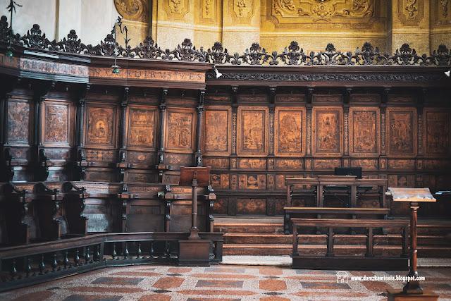 chór w bazylice św. Dominika w Bolonii
