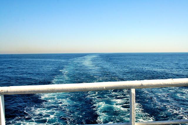 mare, traghetto, acqua, viaggo in mare, cielo