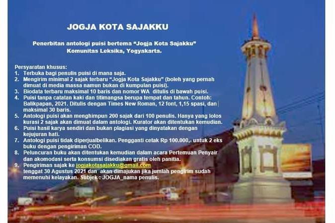 Poster Jogja Kota Sajakku