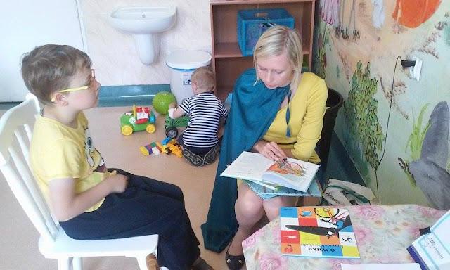 #3 Czytanie pacjentom w elbląskim szpitalu miejskim