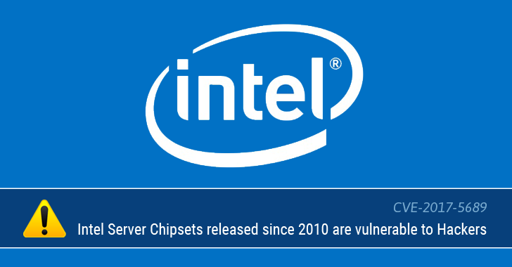 PCs with Intel Server Chipsets, Launched Since 2010, Can be Hacked Remotely