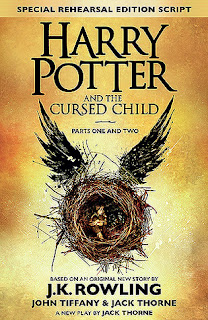 harry potter and the curse child, play, book, j.k. rowling, fantasy, magic, children, adventure