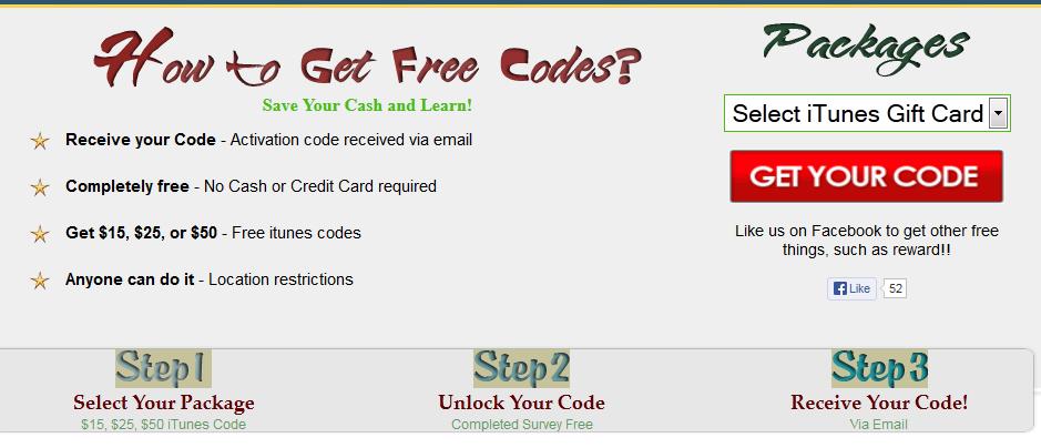 Gratis Itunes Code