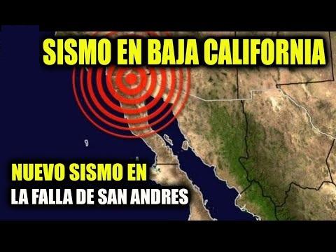 Alerta! Se mueve la falla de san Andres en Baja California, Mexico...se registran 11 sismos en las ultimas horas.