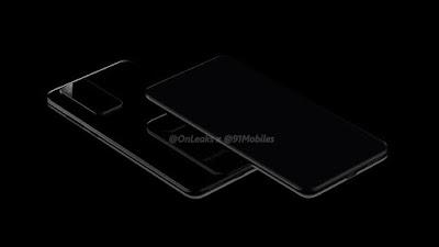هاتف قادم من هواوي P40 و P40 Pro يتم رصد صورة تبين تصميمهما