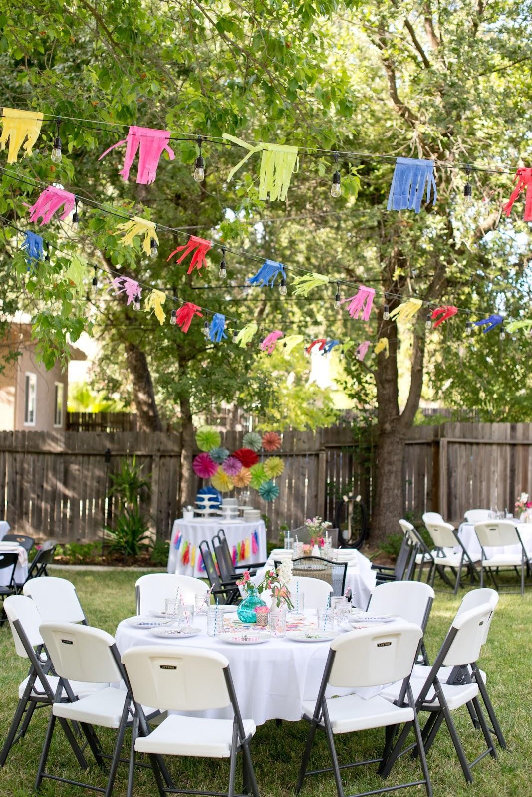 backyard soiree