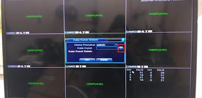 Cara reset password DVR xmeye dengan master password
