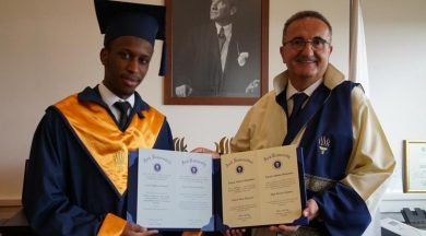 20-Year-Old Nigerian Is Best Graduating Student In Turkish University (Photo)