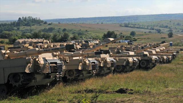 OTAN inicia gran maniobra en este de Europa con 25.000 militares