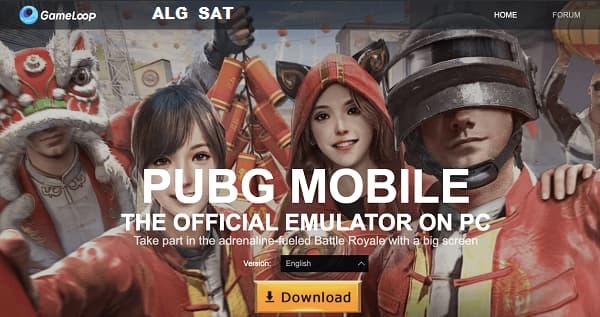 بوبج موبايل على جام لوب PUBG Mobile on Gameloop
