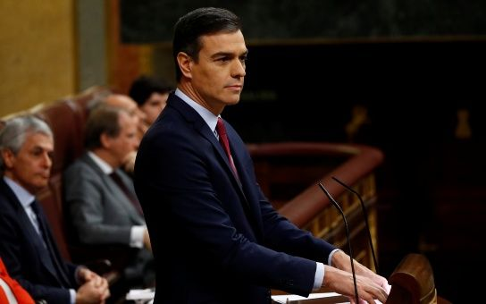 Pedro Sánchez es investido presidente de Gobierno de España con 167 votos a favor