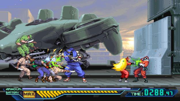 Ninja Saviors: Return of the Warriors - retro ninja games