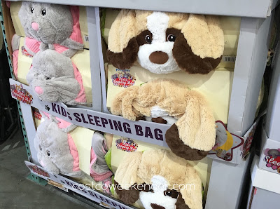 Costco 1017403 - Bunny and puppy Hugfun Slumber Bags