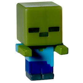 Minecraft Zombie Mini Figures