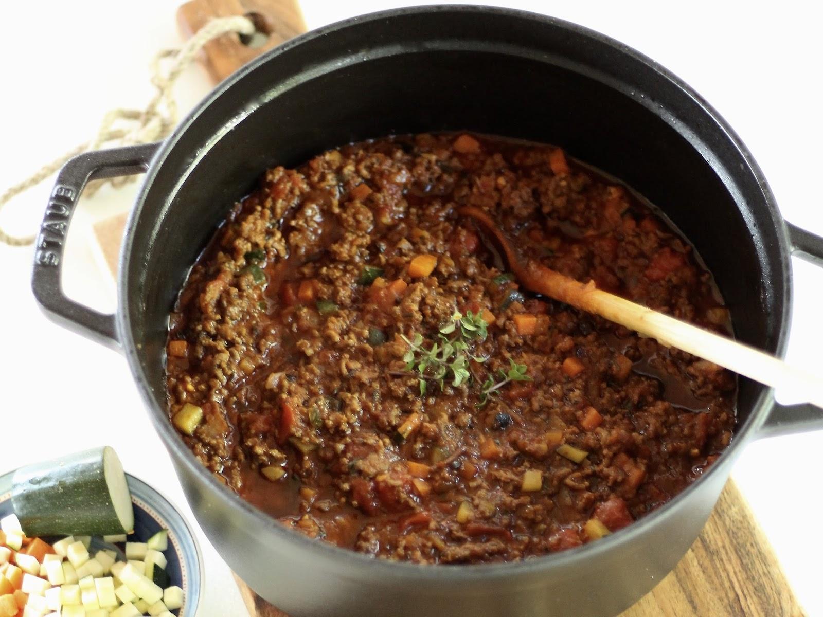 Spaghetti mit Bolognese nach Yushkas Art