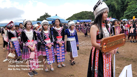 2019 Chiang Mai Hmong New Year Celebration at Mae Xa Noy Village in Thailand
