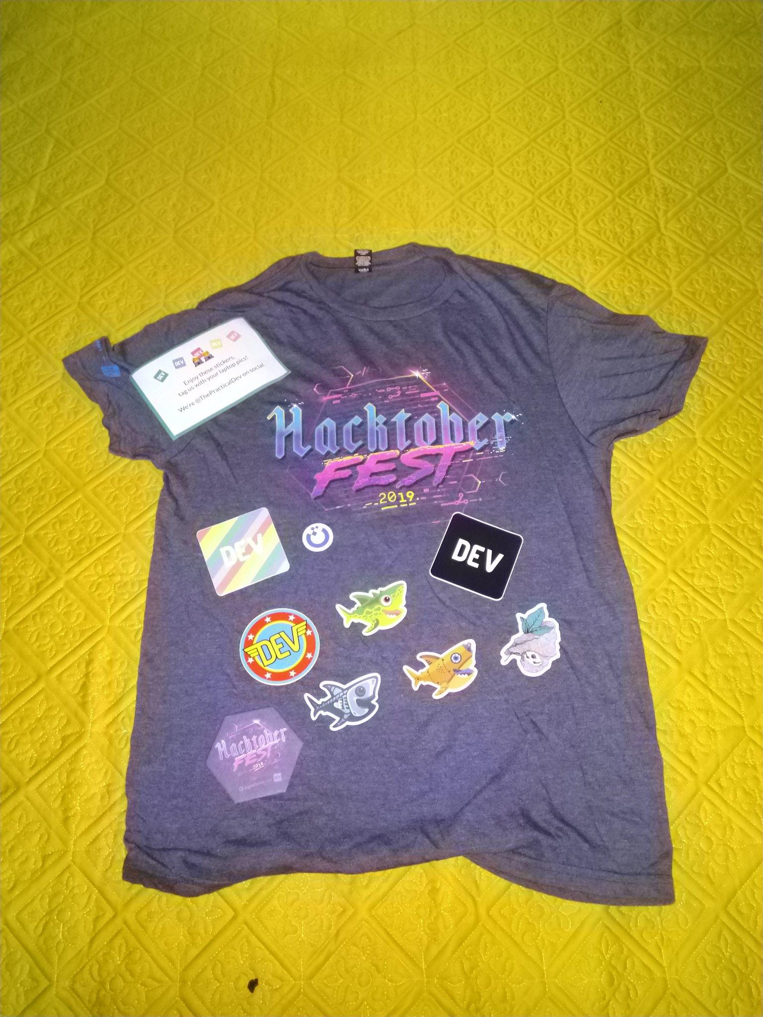 hacktoberfest-T-shirt-2019