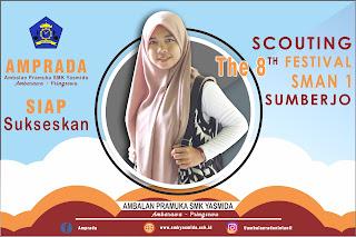 Foto Support The 8 Scouting Festival SMA N 1 Sumberjo dari SMK Yasmida Ambarawa