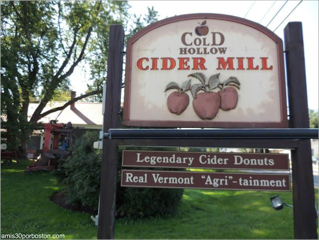 Sidra de Manzana en Vermont: Cold Hollow Cider Mill