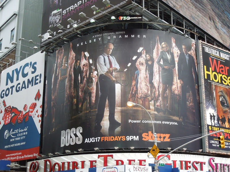 Boss season 2 billboard Times Square