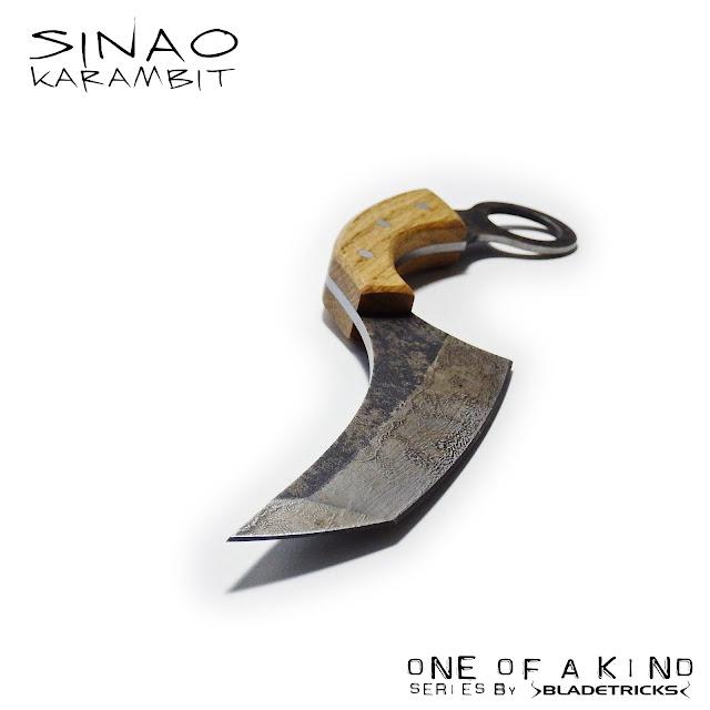 Custom Karambit Tanto blade by knife maker Bladetricks tactical blades and tools