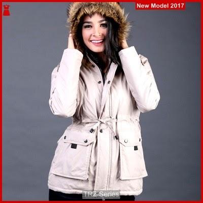 TRZ14 Jaket Wanita Hoodies Cream 011 Murah