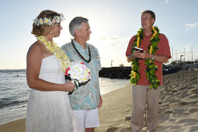 Ala Wai Beach Wedding