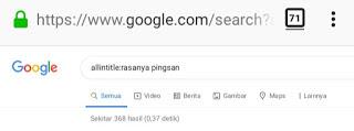 Allintitle Cara Meningkatkan Pagerank Website bisa dilakukan dengan cara optimasi SEO on Page