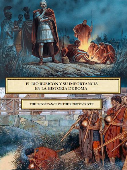 "El río que cruzó Julio César pronunciendo ""alea jacta est"""