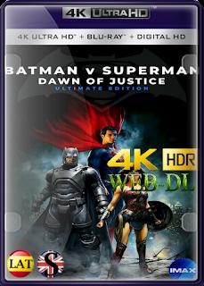 Batman vs Superman: El Origen de la Justicia Ultimate Edición (2016) EXTENDIDA IMAX 4K UHD HDR LATINO/INGLES